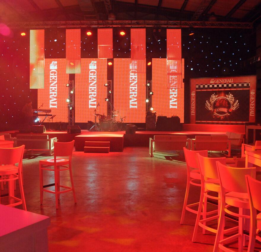 Live events production